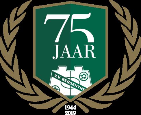 Jubileum logo 75 jaar v.v. Bergentheim